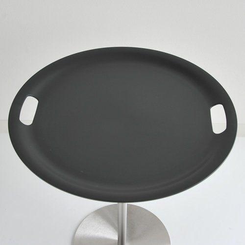 """Alessi serviravimo staliukas su padėklu """"Op-la"""", metalas ir plastikas"""