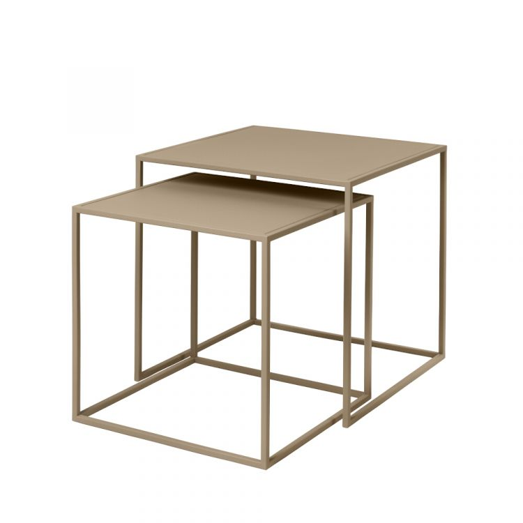 Blomus metalinių staliukų rinkinys Fera, 2 vnt