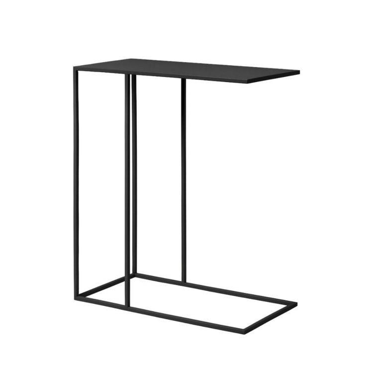 Blomus metalinis staliukas Fera, juodas