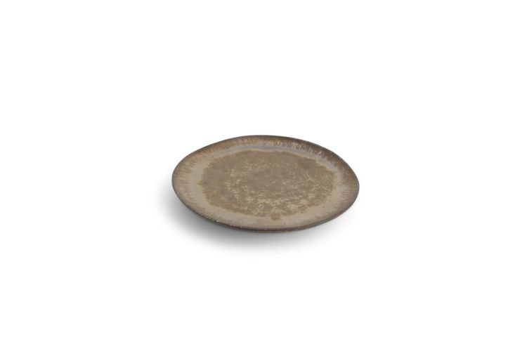 """CHIC porceliano lėkštė """"Perla Gold"""", Ø16 cm, metalizuotas auksas"""